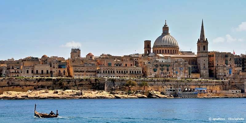 Autotour à Malte en hôtels 3*