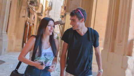 Spécial étudiant, en école internationale de langue à St Julian's (Malte)