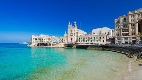 Spécial étudiant, en école internationale de langue à Sliema (Malte)
