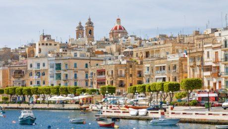 Séjour cours en groupe de 4 à Malte pour Toussaint