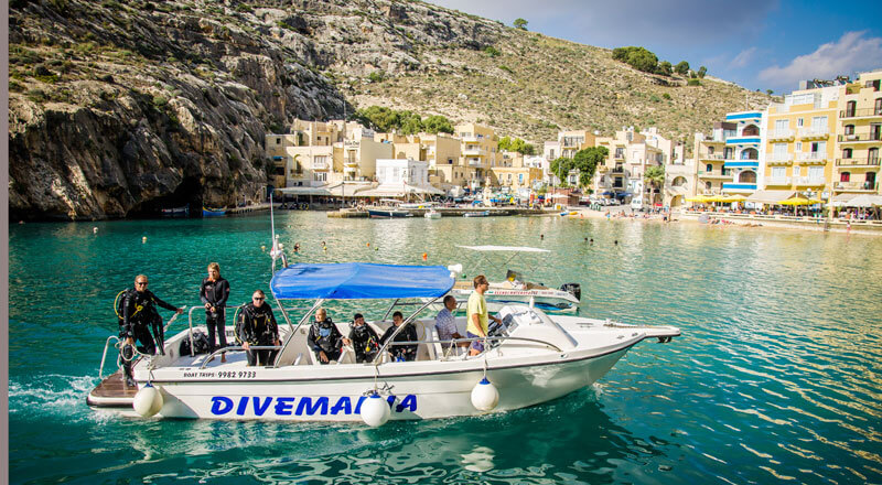 Séjour plongée au St Patrick Hôtel à Xlendi sur l 'île de Gozo