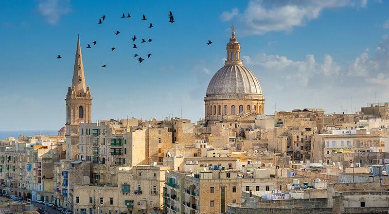 Autotour à Malte en hôtels 3* ou 4*