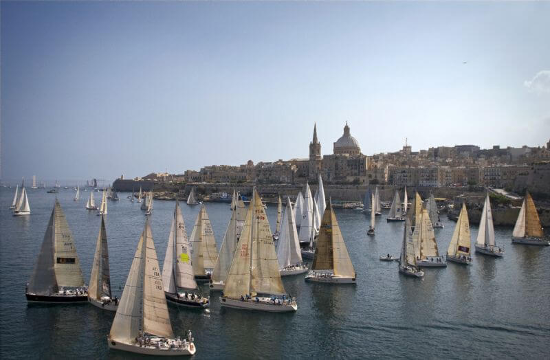 start-of-the-29th-rolex-middle-sea-race-in-malta