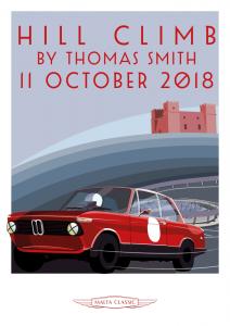 Poster Hill Climb Malta Classic