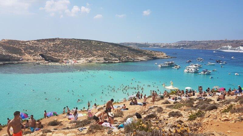Anglais et plongée à Malte