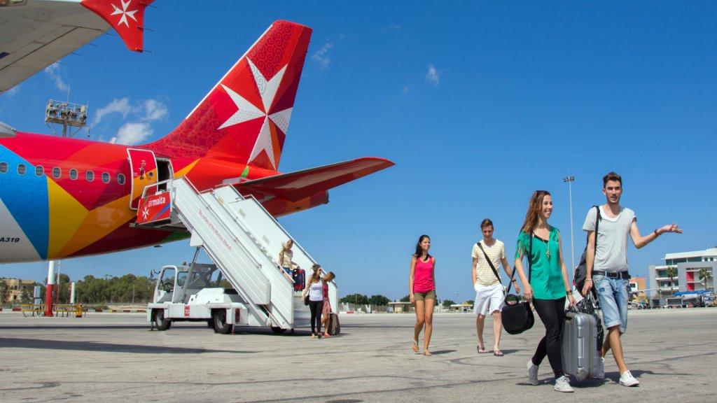 arrival-malta