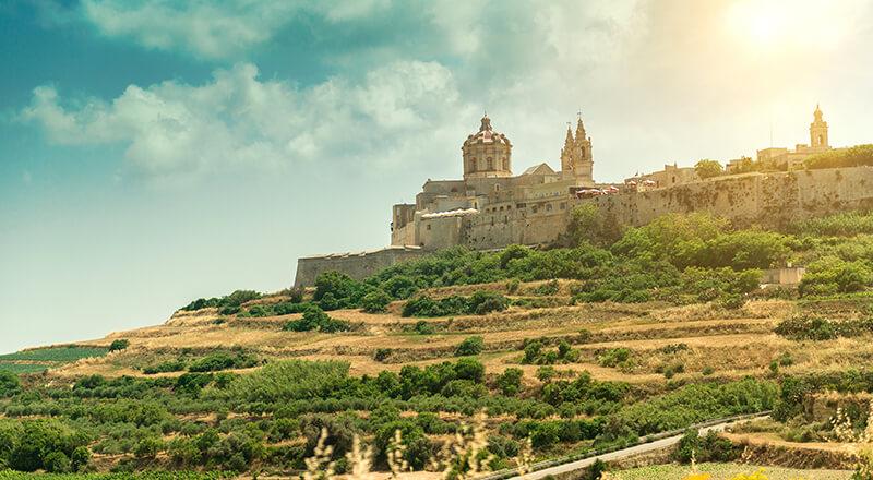 Circuit Echappée maltaise depuis le Cavalieri Art 4*