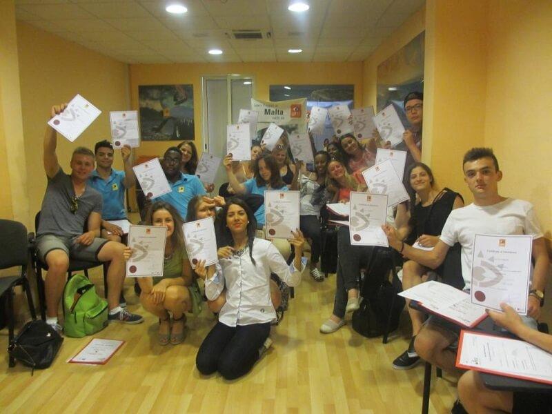 Stage Erasmus+ avec cours d'anglais