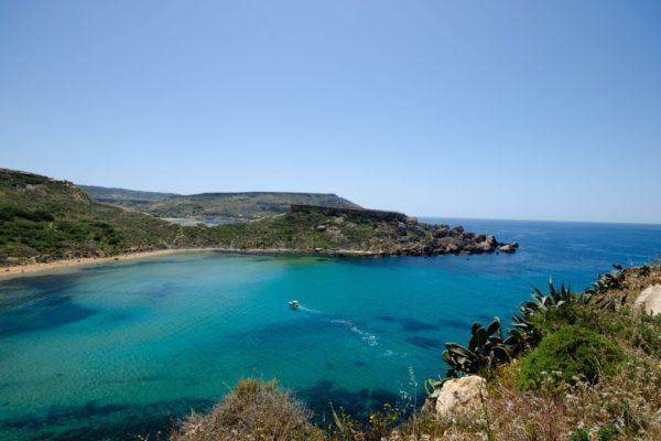 Les plages maltaises labellisées Pavillon Bleu