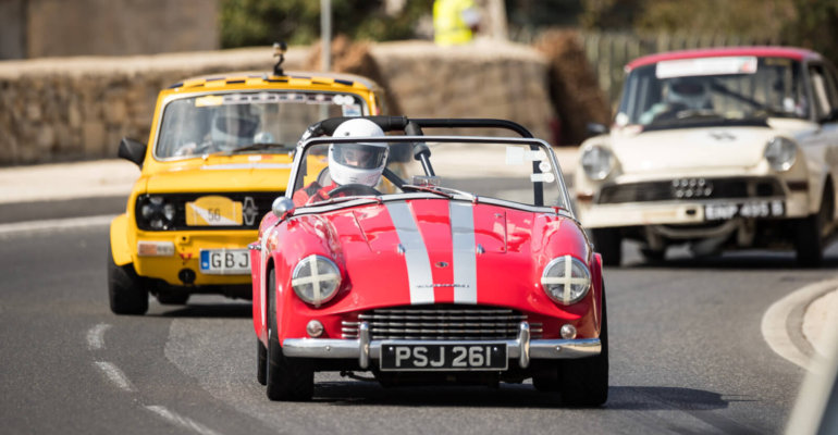 Malta Classic 2017, les voitures de collection mises à l'honneur