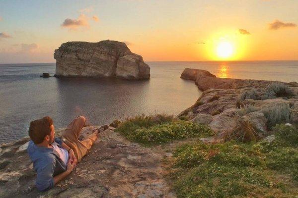 Alex Vizeo, voyageur blogueur à la découverte de Gozo