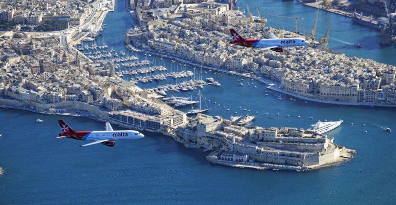 De nouveaux vols en 2018 entre la France et Malte