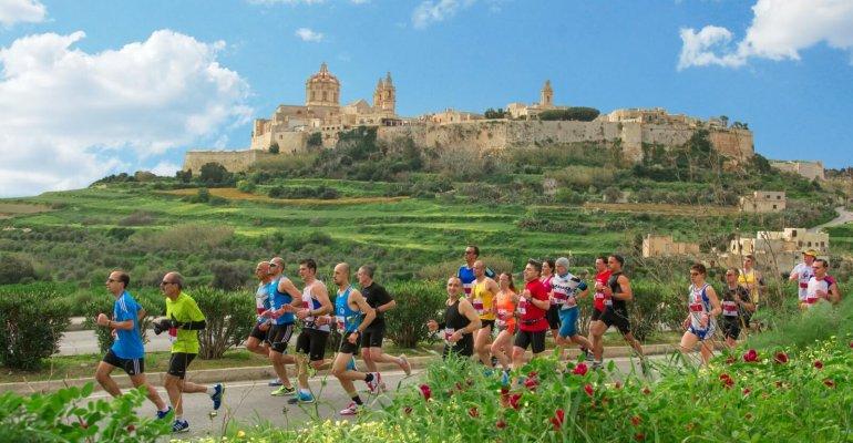 N'oubliez pas vos chaussures et courez à Malte!