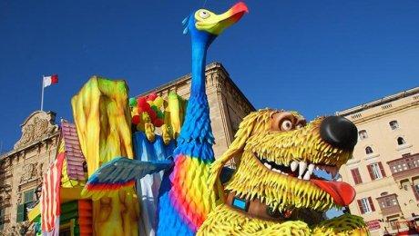 Carnaval de Malte – Hôtel 3 ou 4 étoiles