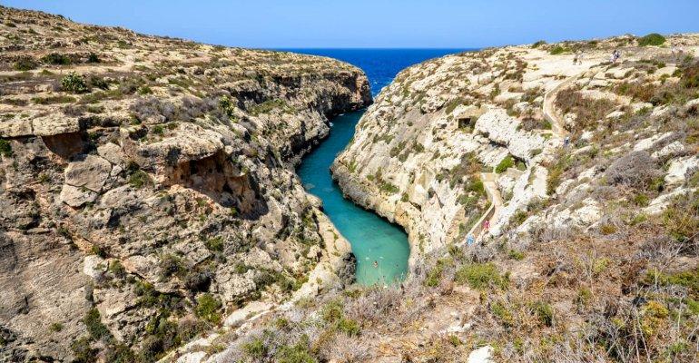 Une journée en été sur l'île de Malte