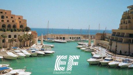 EF Education First – Séjour Linguistique en résidence à Malte