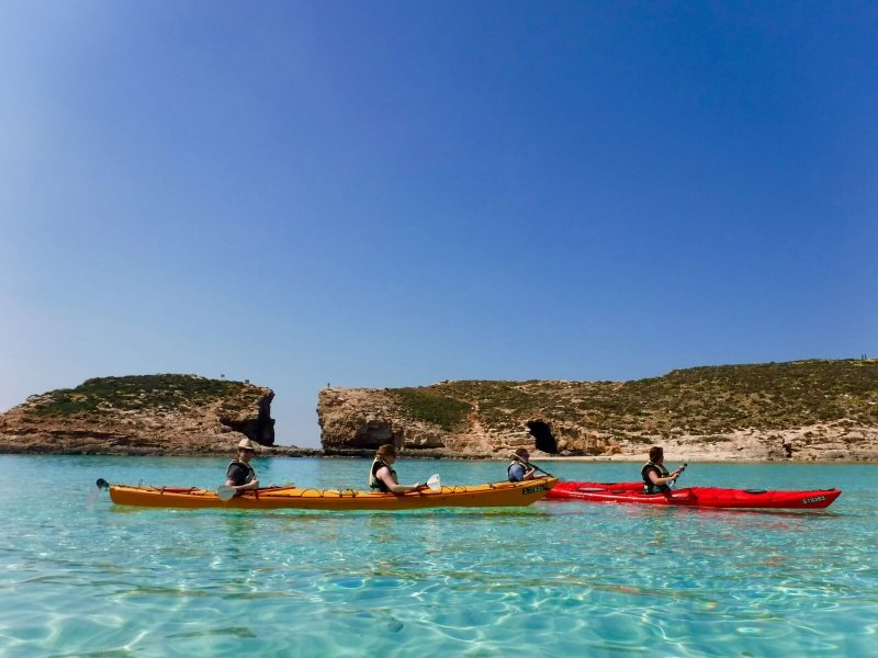 Tours en kayak Gozo et Comino
