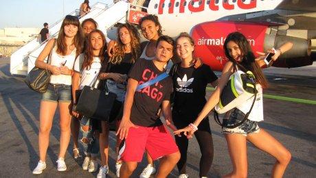 Séjour linguistique en hôtel Club à Malte –