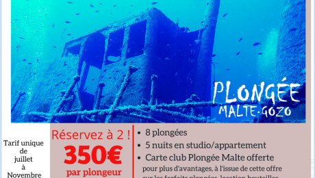 Promo Séjour Plongée