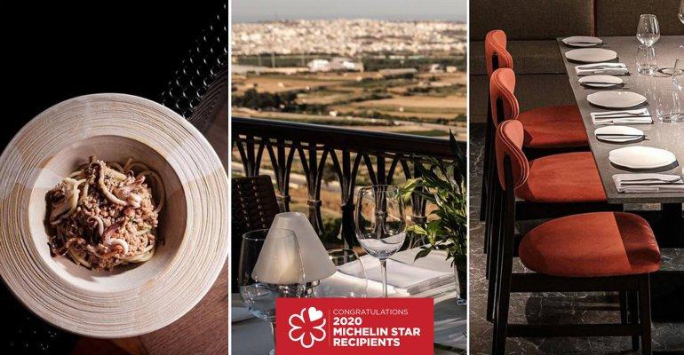 Le premier Guide Michelin consacré à Malte vient de paraître,  et avec lui la révélation des premiers étoilés Michelin de l'archipel !