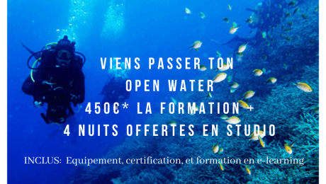 Passe ton Open Water à Malte
