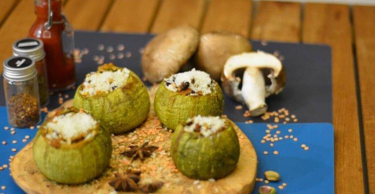Recette des Qarabaghli Mimli – Courgettes rondes farcies à la maltaise