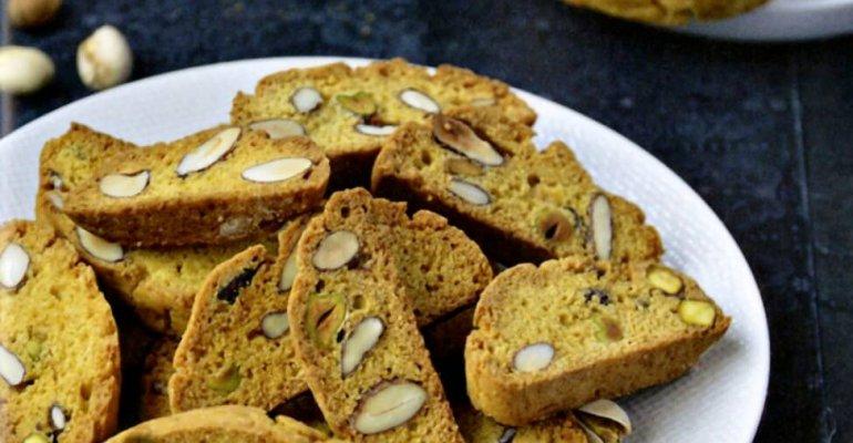 Biscotti aux pistaches