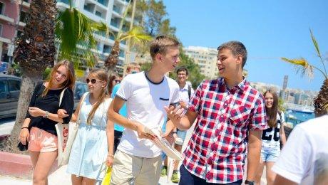 Séjour Anglais & activités encadrées à Sliema – 13-17 ans