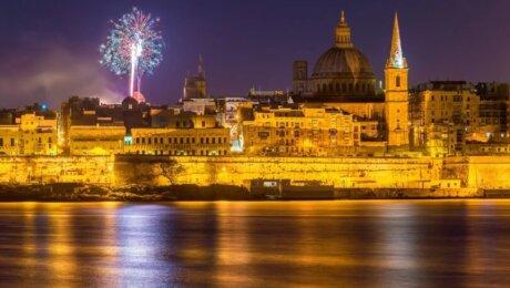 Nouvel An à Malte